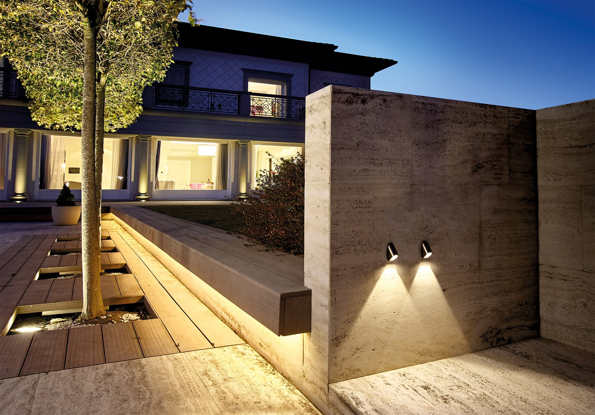 petit_wall steplight for outdoor